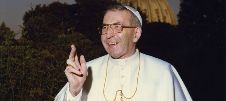 Pope Francis recognized that Pope John Paul I, who served only 33 days as pope, lived the Christian virtues in a heroic way.