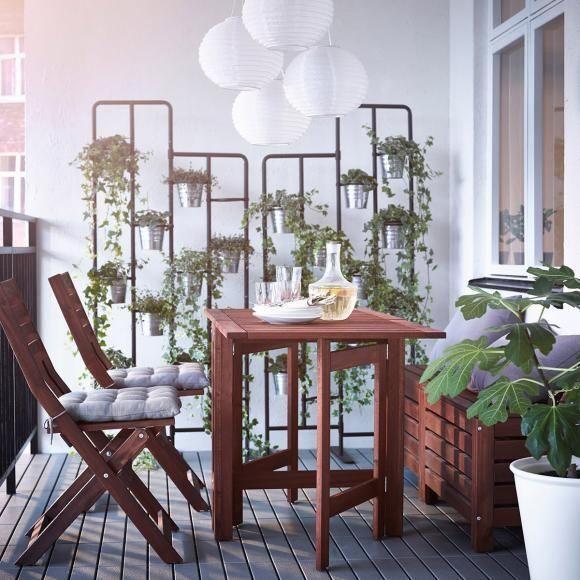 Die Schönsten Balkonmöbel Ikea Udendørs Udendørs Indretning