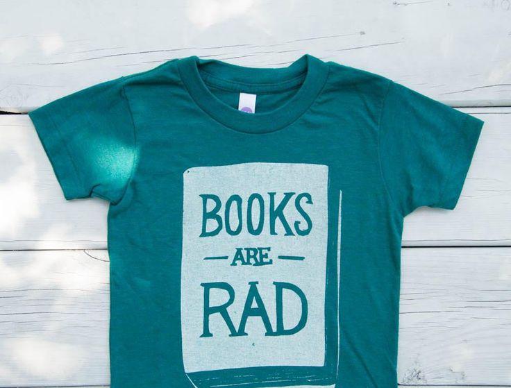 Books Are Rad - Child T-Shirt