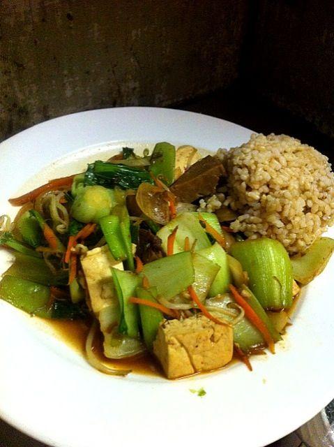 レシピとお料理がひらめくSnapDish - 9件のもぐもぐ - Bokchoy Tofu/青梗菜とセイタン炒め by m.