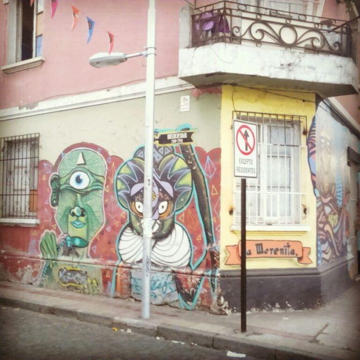 Street Art Chile, Yungay Town, Santiago / Arte Callejero Barrio Yungay, Santiago de Chile