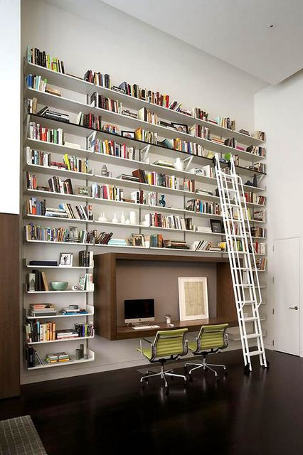 I just want this much space for my books! Perfect for a book nerd like myself.