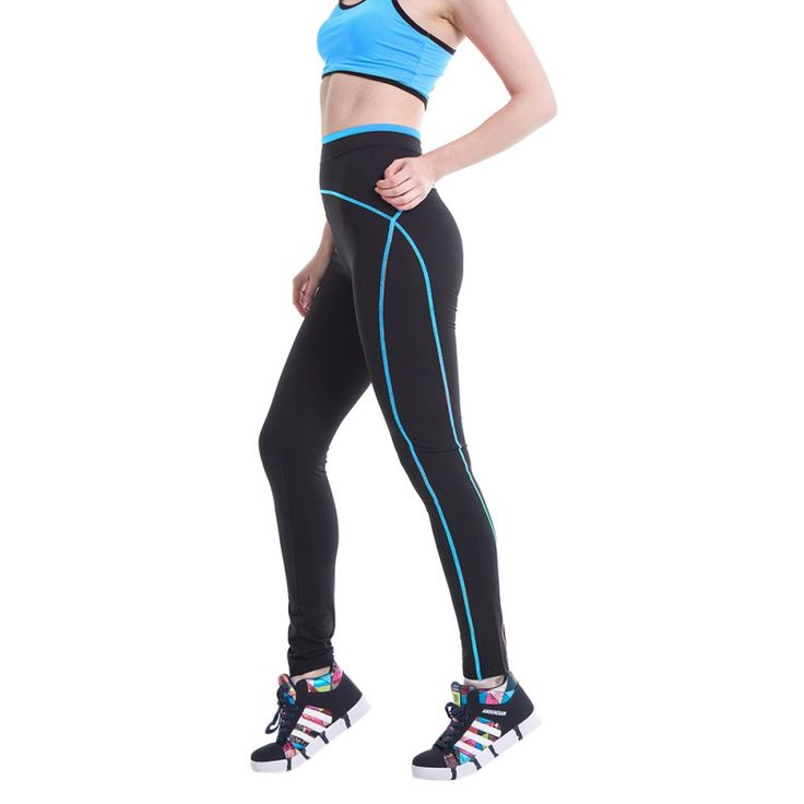 Women Fitness Compression Pants  Running Tights Leggings Jogging Workout Yoga Pants New