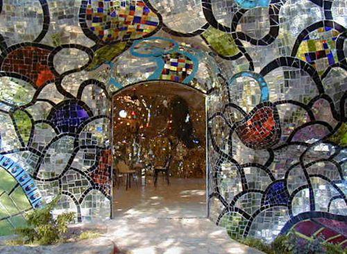tarot garden in Italy, niki de saint phalle