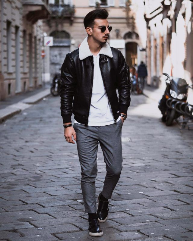 50 Stylish Ways To Wear A Shearling Coat Fashion Tips For Men