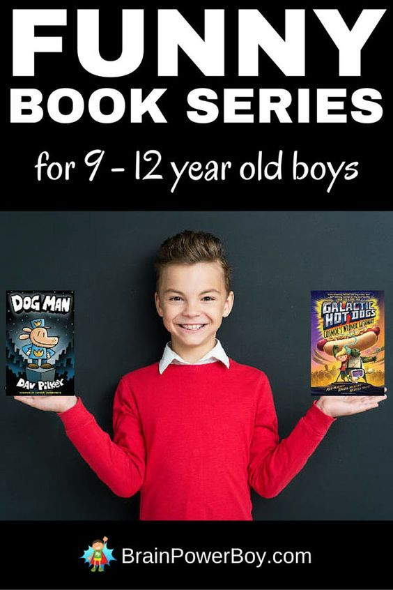 Funny Book Series for 9 - 12 Year Old Boys | Kid Blogger ...