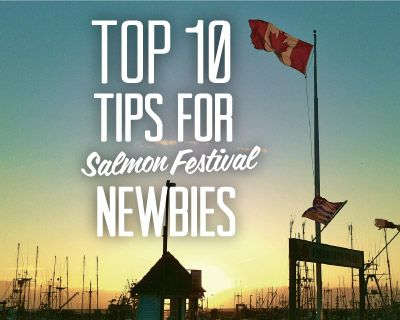 So you're planning on visiting the #Steveston Salmon Festival for the first time?! Get right to the real info you need to know with our top 10 tips for survival. #RichmondBC