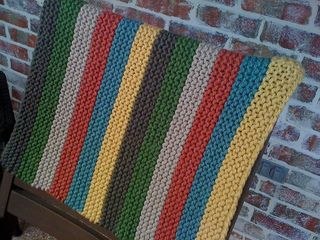 Bulky Baby Blanket Knitting Pattern : Super Bulky knit baby blanket pattern I have a yarn problem. Pint?