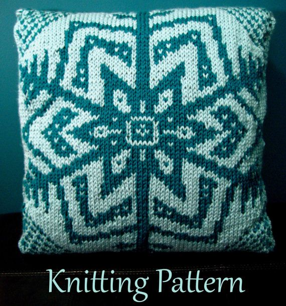 283 best images about Knit Pillows on Pinterest