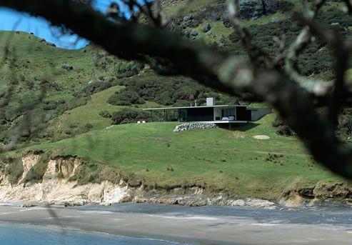 Oruawharo Beach House, Great Barrier Island, Hauraki Gulf, New Zealand