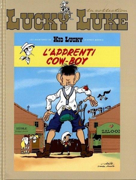 Lucky Luke - La collection (Hachette) -95- Kid-Lucky (L'apprenti cow-boy)