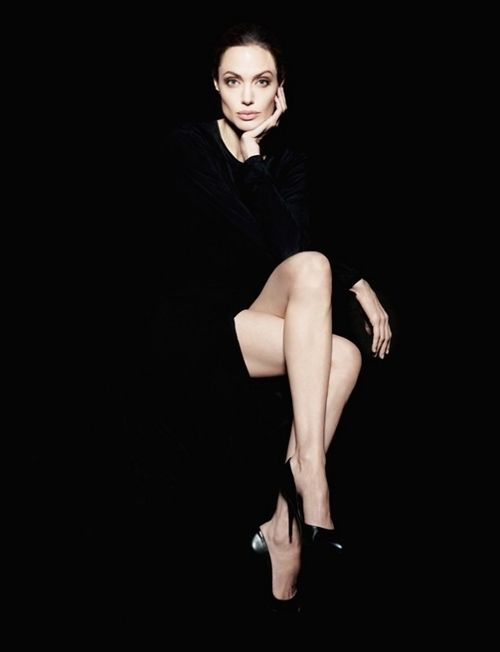 Angelina Jolie. She had the strength to speak out and inform a world of women to take care of their health.  Health over beauty...what a woman.