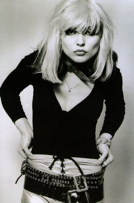 Debbie Harry aka Blondie.