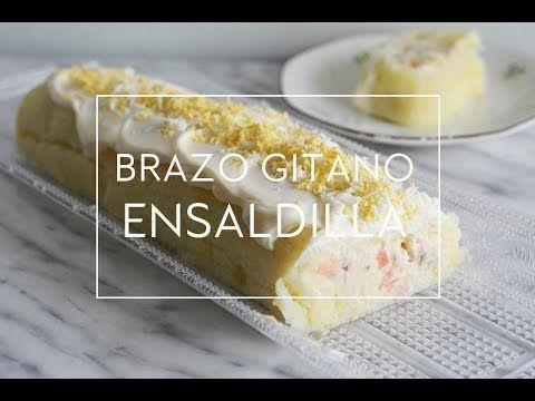 Hola cocinillas Hoy veremos Cómo hacer un rollo de patata y ensaladilla, un brazo de gitano o pastel salado relleno de ensaladilla rusa. Es una receta sin ho...