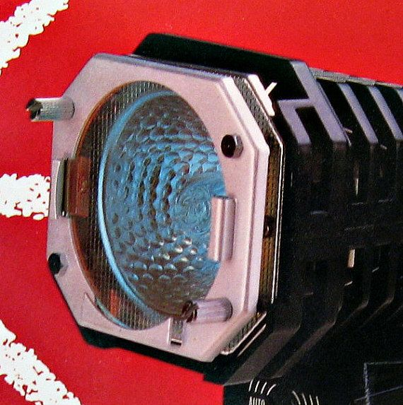 Acme Video Camera Light  Luminex 1970s Retro by LootByLouise, $17.99