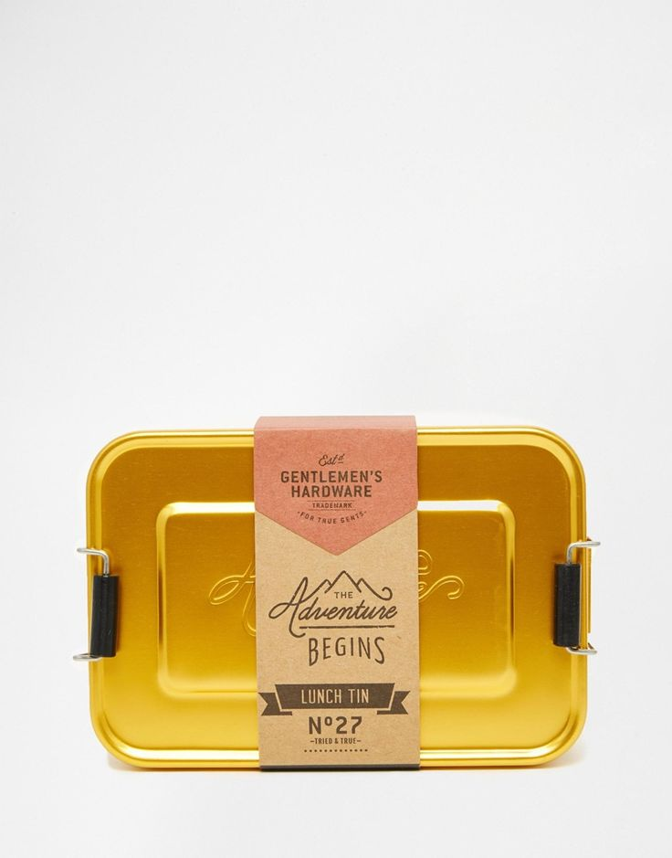 Gentleman's Hardware Lunch Tin http://bit.ly/1LyZKiS