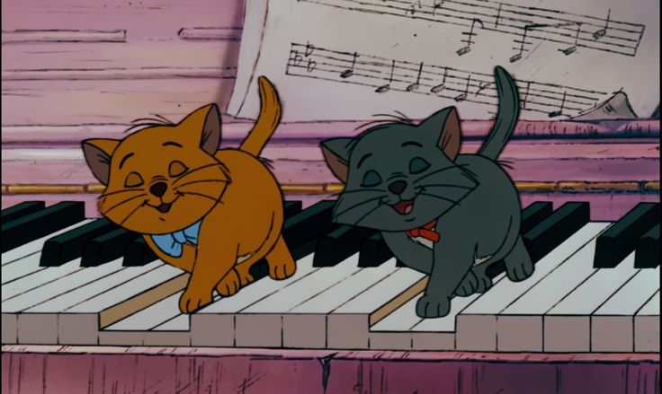 the Aristocats, Toulouse and Berlioz