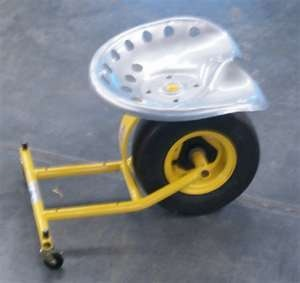 Shop Chair on wheels.