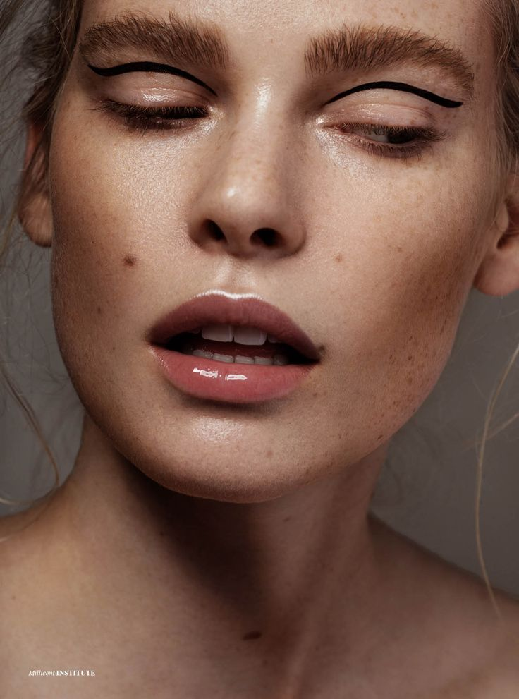 Millicent - Photographed by Caroline Zenker Hair & Makeup Hannah Burckhardt Model Millicent Lambert / MD Management