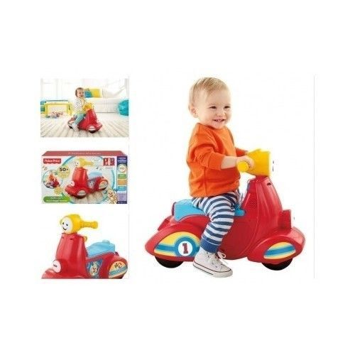 Kids Mini Scooter Fisher Price Baby Wheels Home Toy Play Smart Motor Song Music in Toys & Hobbies, Outdoor Toys & Structures, Ride-Ons & Tricycles, 1970-Now | eBay