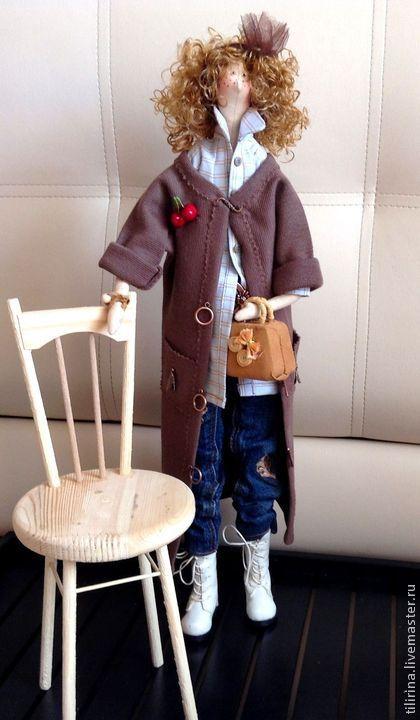 Аллочка - кукла ручной работы,текстильная кукла,интерьерная кукла,тильда кукла