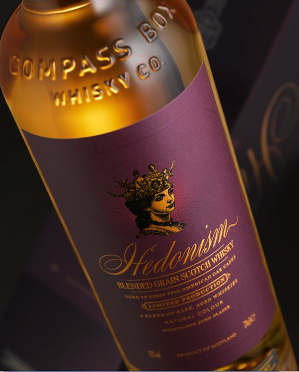 Compass Box Hedonism Vatted Scotch Grain Whisky (750mL) |  Shop Scotch Whisky | ForWhiskeyLovers.com