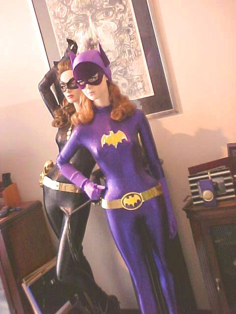 Batgirl & Catwoman Costume: Mommy and Me idea!