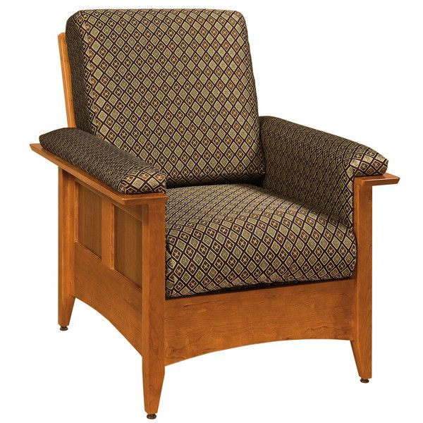 Alamo Arm Chair   Amish Hardwood Furniture Customize This Piece With Your  Wood Type, Upholstery