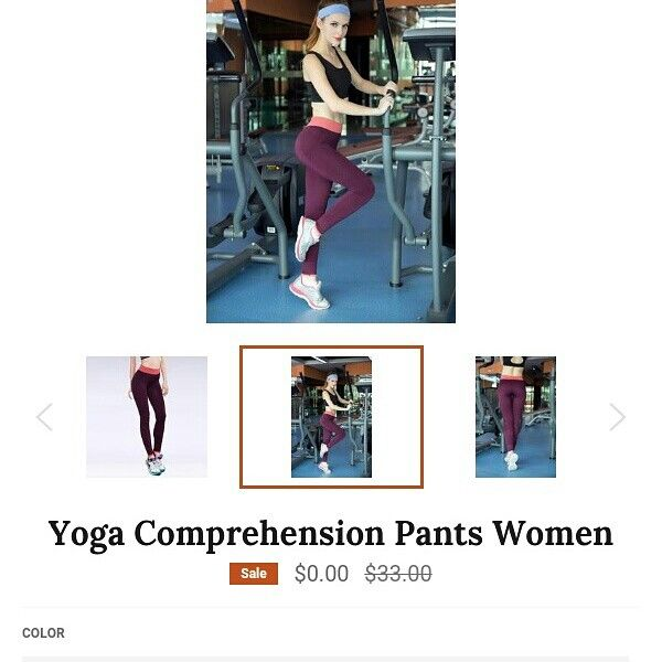 Free yoga pants click link in bio check out in store
