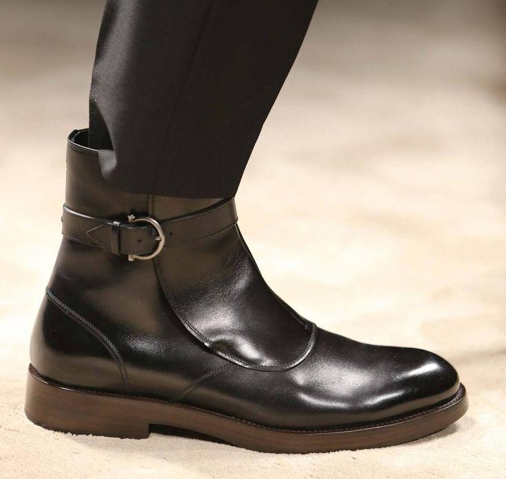 Мужская обувь Salvatore Ferragamo осень зима 2014-2015