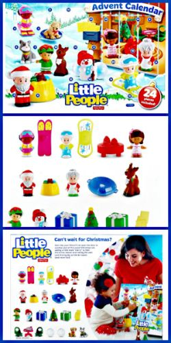 Fisher Price Little People Advent Calendar - Toy Advent Calendars