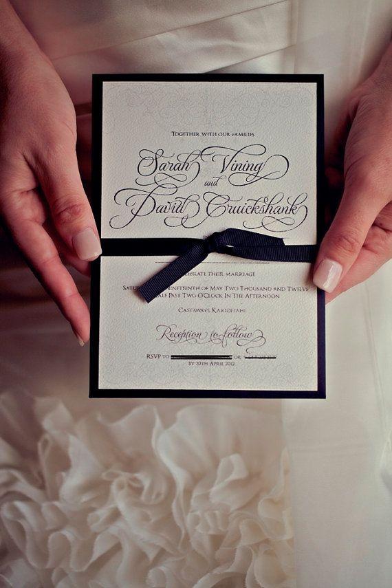 Antique Gate Custom Wedding Invitation DIY by CreativePapier, $25.00