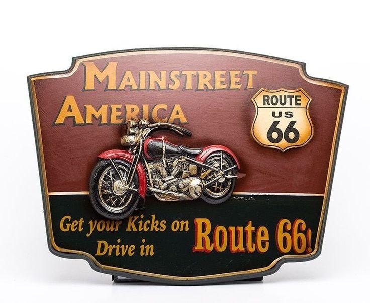 Placa Decorativa Moto Custom - Alto Relevo - Machine Cult   A loja das camisetas de carro e moto