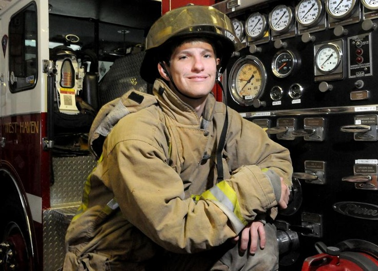 Deaf man makes dream of becoming firefighter a reality in West Haven