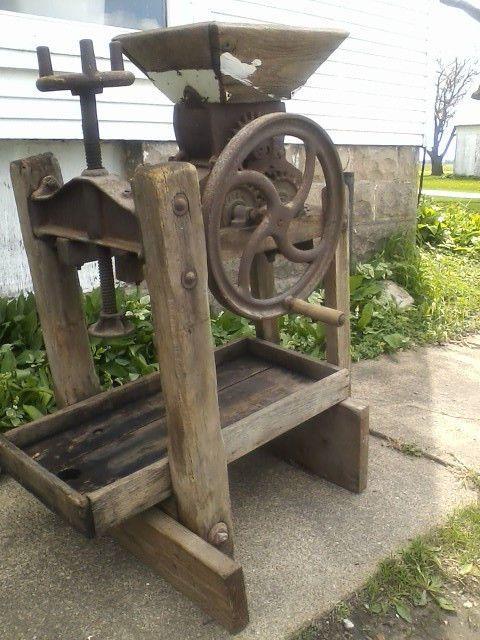 Old Apple Cider Press Fleamarket Amp Barn Primitives