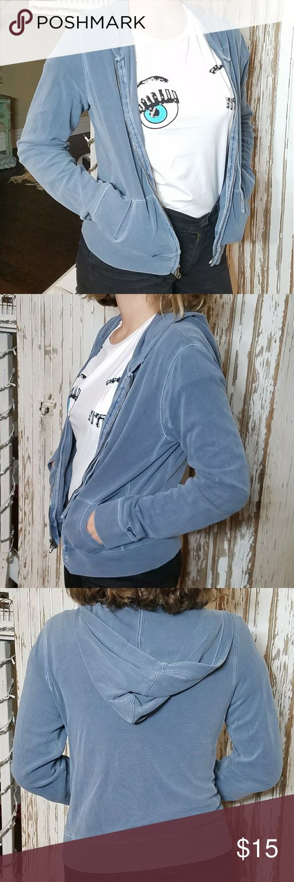 Classic Blue Abercrombie and Fitch Jacket In good condition and very soft to the touch. Abercrombie & Fitch Jackets & Coats