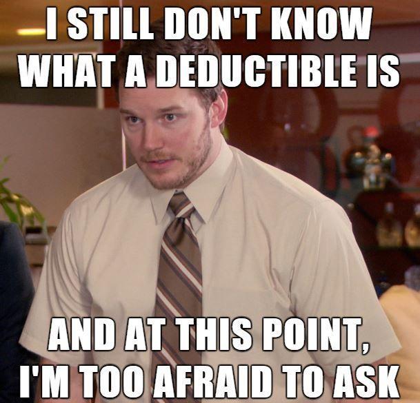Insurance Deductible Meme