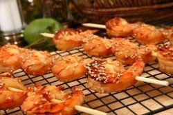 Australian Style BBQ shrimp