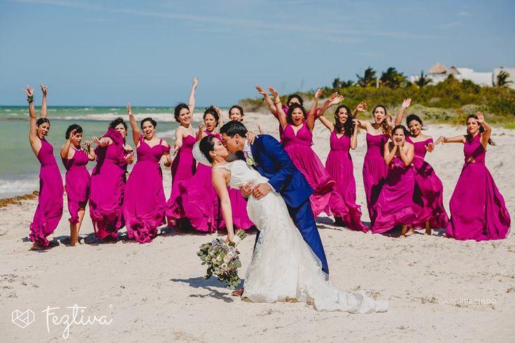 Boda Yazmín Quiñones & Franklin Ulin   Fotografías: Gabo Preciado Locación sesión de fotos y locación recepción: Villas San Bruno  #wedding #boda #weddingday #Merida #Yucatan #Mexico