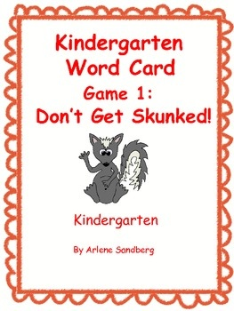 This is a game with kindergarten sight words. Mix the skunk cards and words cards and put them face down on a table. Students have to decide how ma...: Teachersnotebook Com, Kindergarten Sight Words, Sight Words Games, Games Freebies, Card, Teacher Notebooks, Skunks Sight, How To Teaching Sight Words, Sight Word Games