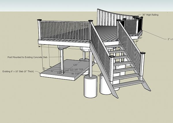20 best images about carport deck plans on pinterest for Carport deck combination