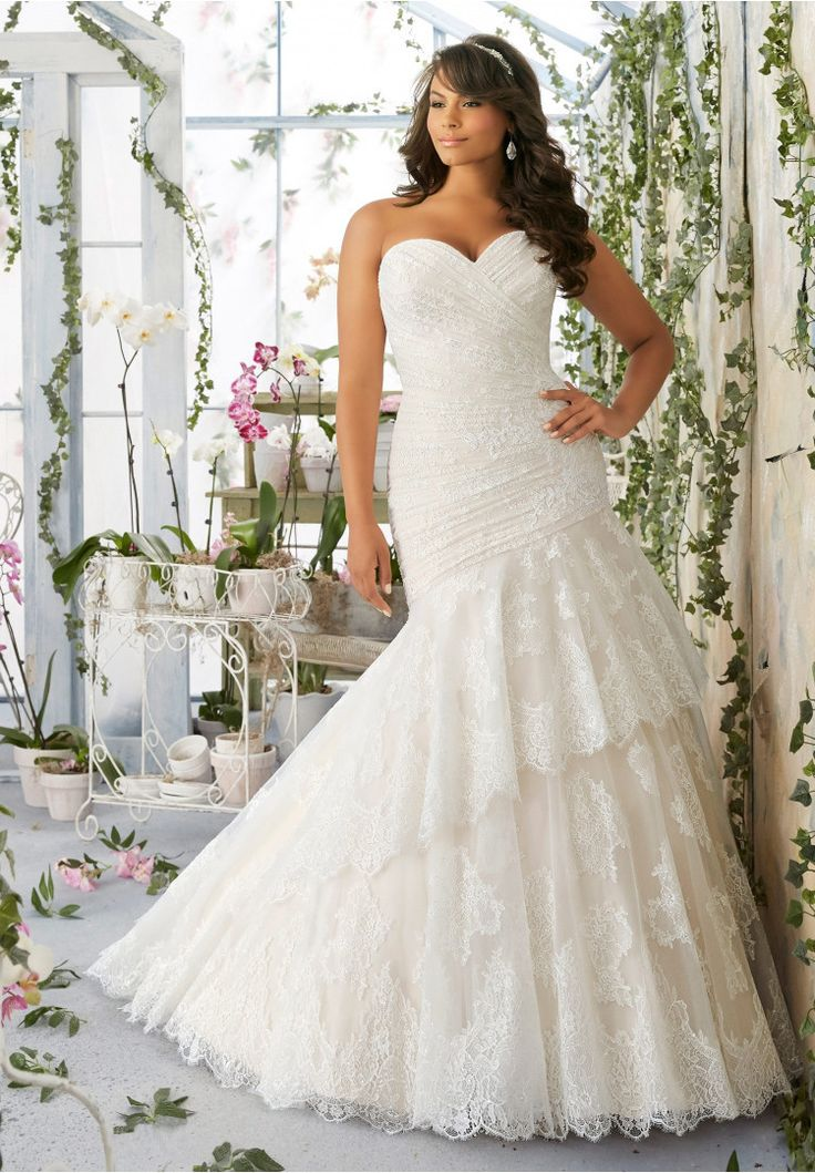104 best Curvy Size Wedding Dresses images on Pinterest | Homecoming ...