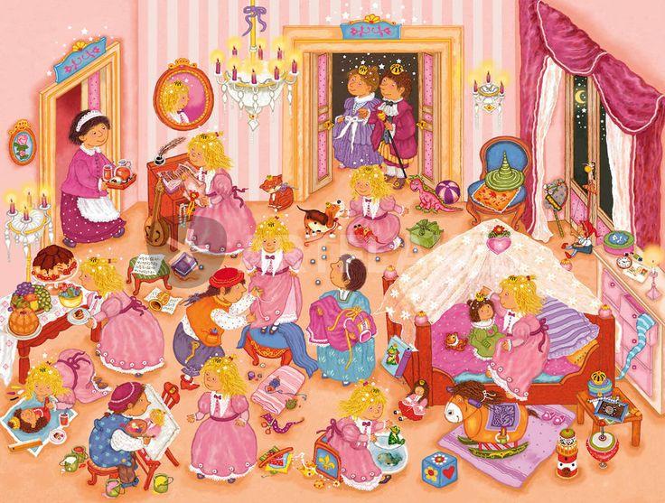 Praatplaat prinses voor kleuters