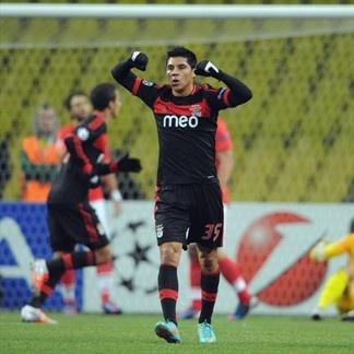 Enzo Perez, Benfica. | Spartak Moskva 2-1 Benfica. 23.10.12.