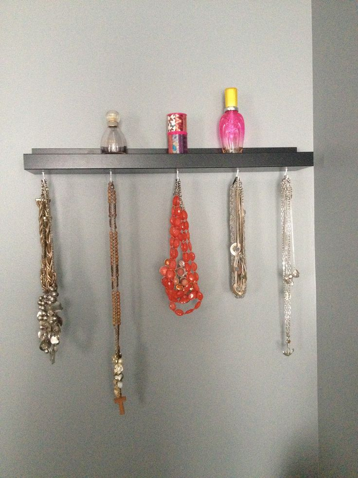 Ikea Ribba Picture Ledge Hack Now A Beautiful Necklace