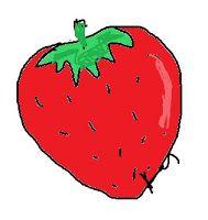 Flowers & Ladybugs : Strawberry (a healing fruit)