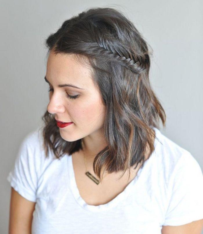 1001 + idées comment coiffer des cheveux courts Braided