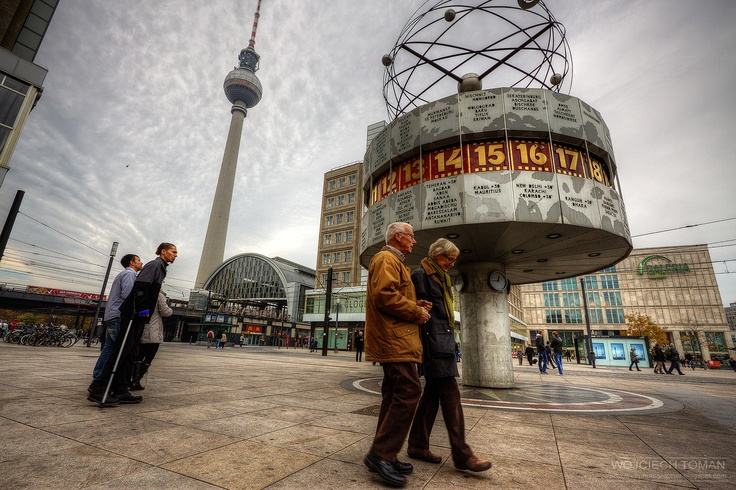 Alexanderplatz in Berlin ~ http://hdrphotographer.blogspot.com/2013/06/alexanderplatz-in-berlin.html