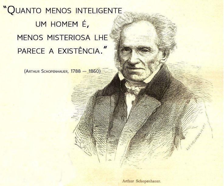 Biografia e frases de Schopenhauer