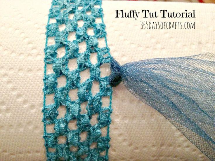 fluffy tutu tutorial step one